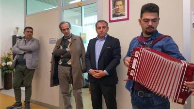 Il sindaco Gian Luca Zattini al Buongiorno